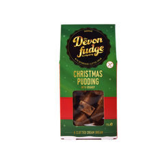 Christmas Pudding Fudge  CLEARANCE WHILE STOCKS LAST - Box - 175g